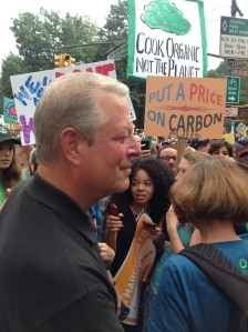 """""""Enough raw energy reaches the Earth from the sun in one hour to equal all of the energy used by the entire world in a full year."""" Al Gore in a pre-march blog post."""